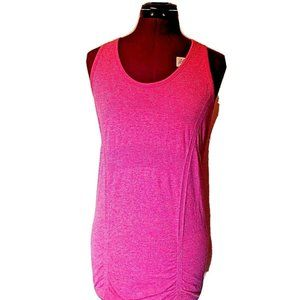 Athleta Womens Fastest Track Tank Top Ruched